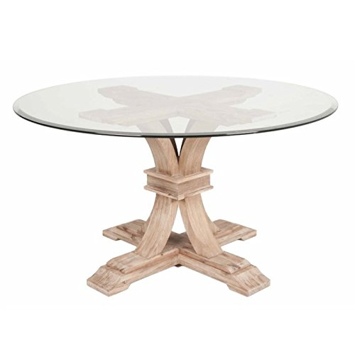 devon-traditions-54-round-glass-top-dining-table-with-beveled-edge-and-acacia-veneer-pedestal-base