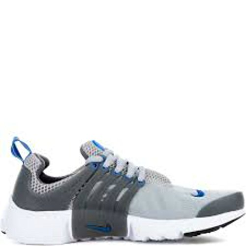 Zapatillas De Running Nike Presto Gs Youth Boys Wolf Gray / Juego Royal-dark Grey-black