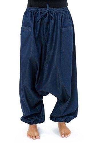 Fantazia -  Jeans  - harem - Donna blu Medium
