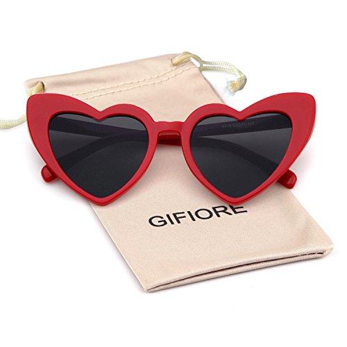 Clout goggles mom sunglasses compared. Bold retro heart mod