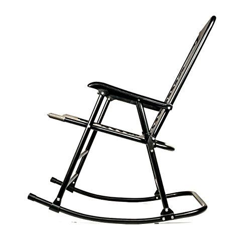 camco 51851 tan folding rocking director u0026 39 s chair