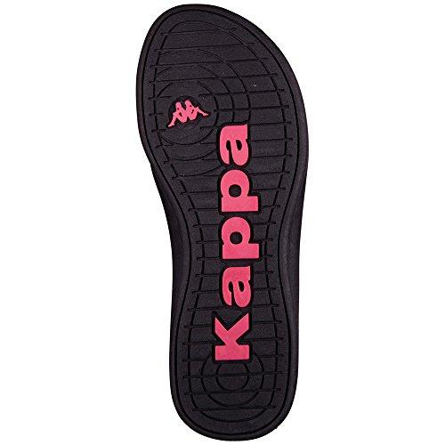 Kappa Flip Flop Sandals Women Black Halulu wSrUwqC