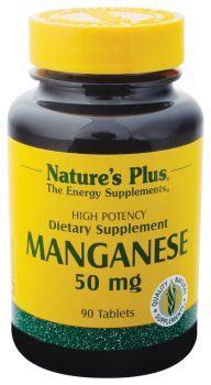 Nature Plus - manganèse, 50 mg, 90 comprimés
