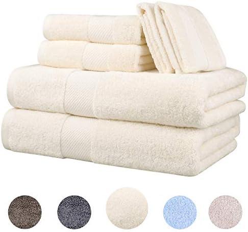 Wonwo Cotton Towels Luxury Piece