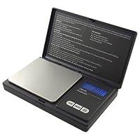 Báscula de bolsillo digital AWS-100 de American Weigh Scale, resolución de 100 g x 0.01 g