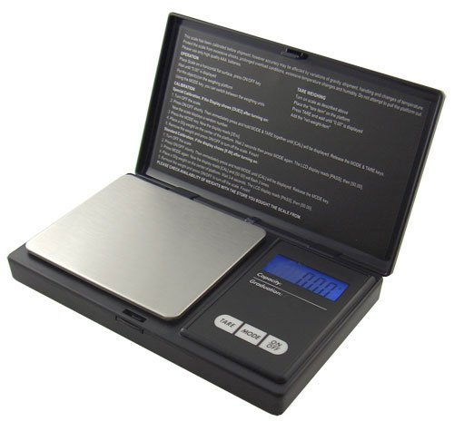 American Weigh Scale AWS-100 Digital Pocket Scale, 100g X 0.01g Resolution - 0.01g Digital Pocket Scale