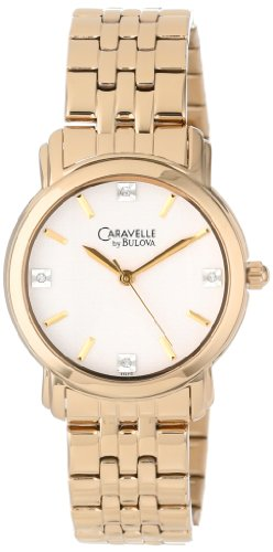 Caravelle by Bulova Women's 44L113 Stainless Steel Bracelet Watch