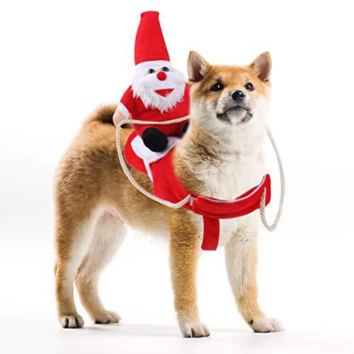 🥇 Chnaivy Disfraz de Perro de Navidad