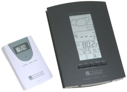 Oregon Scientific Multi-Channel Weather Forecast Radio Contr