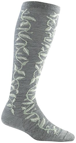 Darn Tough Merino Wool Ivy Knee High Light Sock - Women's Slate Small DISCONTINUED
