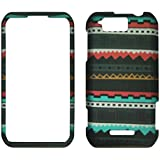 2D Black Tribal Motorola Photon Q LTE XT897 Sprint Case Cover Phone Snap on Cover Case Faceplates