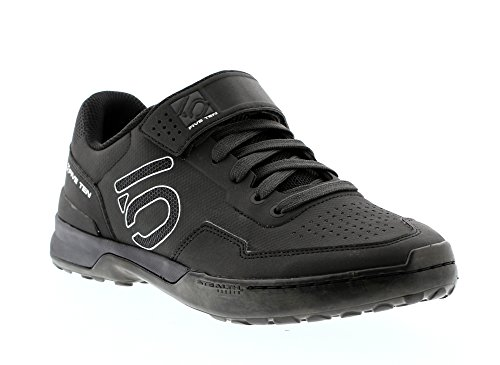 Five Ten Men's Kestrel Lace Mountain Bike Shoes (Clipless, Carbon Black, 10.5)