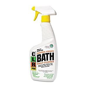 CLR PRO BATH32PROEA Bath Daily Cleaner, Light Lavender Scent, 32oz Spray Bottle