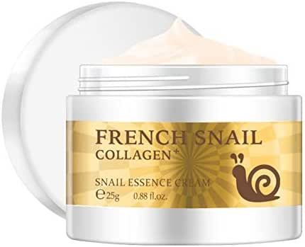 Angmile Snail Extract Facial Moisturizing Cream Hyaluronic Acid Collagen Face Repair Cream Skin Care