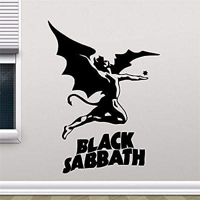 pegatinas de pared frases Black Sabbath Tatuajes de pared Heavy ...