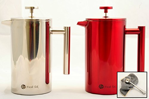Best French Press Coffee Maker 34oz Coffee Pot With Bonus