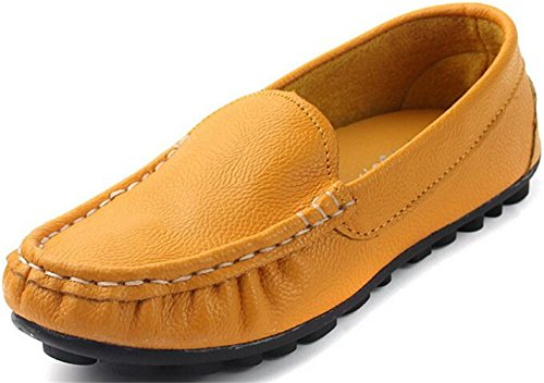 ppxid-boys-girls-slip-on-loafers-soft-sole-casual-student-doug-shoes-yellow-12-us-little-kid