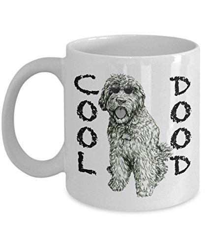 Funny Goldendoodle Coffee Mug - Cool Dood Labradoodle Mom Dad Owner Lovers Gift, 11oz White Ceramic Cup