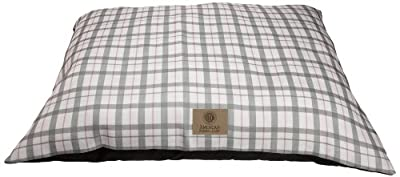 American Kennel Club Plaid Pillow Bed, Pink