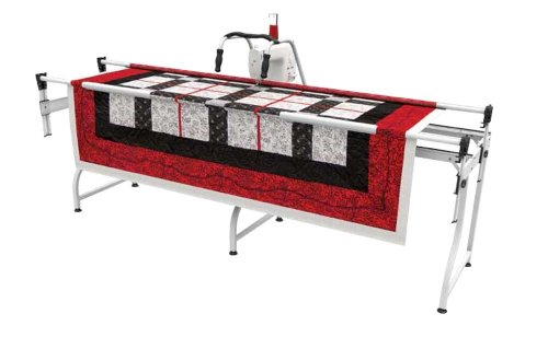 Grace SR2 Machine Quiting Frame: Janome Artistic Quilter by Grace