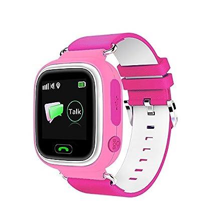 Niños Deporte Reloj de Pulsera GPS Reloj Inteligente para ...