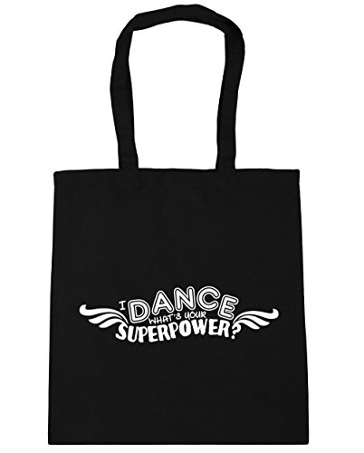 Beach Superpower 42cm Your Dance What's Gym x38cm Bag Tote litres Black I Shopping HippoWarehouse 10 xqTfwHH