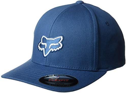 fb0114175 Fox Racing Youth Legacy Flexfit Boys Cap One Size Dusty Blue: Amazon.com