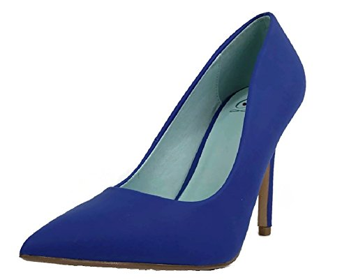 Date H Womens Blue Fashion Delicious Shoes Pumps Cobalt 5qZUxPw