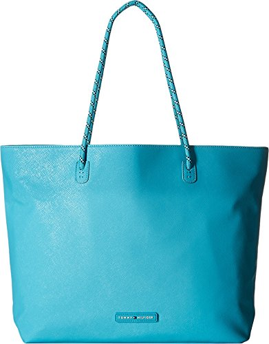 Tommy Hilfiger Women's Tote W/ Removable Sling Scuba Blue Tote 6934821-484