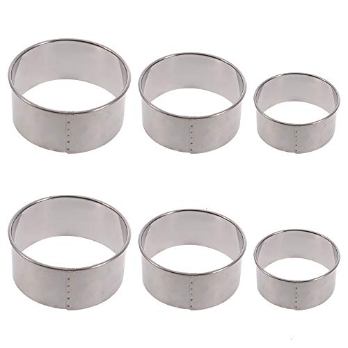 Cookie Cutters, 6 PCS Stainless Steel Cookie Cutters Biscuit