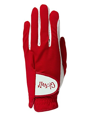 Women's Golf Glove - Glove It - Left Hand Golf Glove - 2018 Lady In Red - Soft Cabretta Leather Gloves - UV Spectrum Protection - Ladies Performance Grip Gloves for Golfing & Sports (Medium) ()