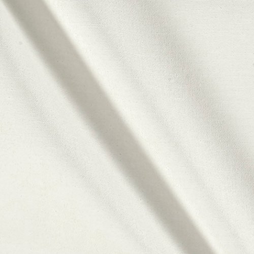 Carr Textile 8 oz 60in Primed Artists Canvas Fabric by The Yard, White