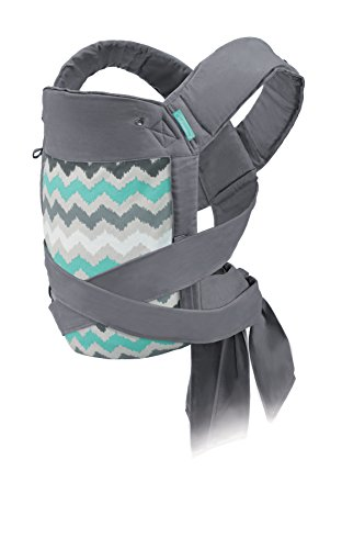 Infantino Sash Wrap and Tie Baby Carrier (Best Baby Carrier For 3 Month Old)