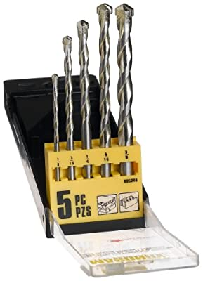 Mibro 895240 5-Piece Ultra Masonry Drill Bit Set