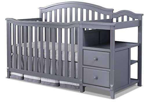 Sorelle Berkley 4 in 1 Crib & Changer - Gray