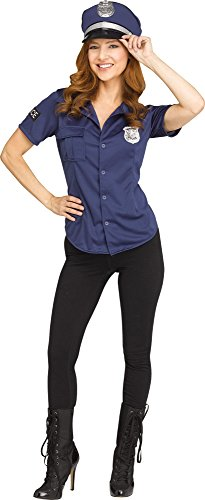 Law 'N' Order Shirt for Halloween, School Acting, Costume Party, for Women Adult Size Medium (1 Pack) for $<!--$8.99-->