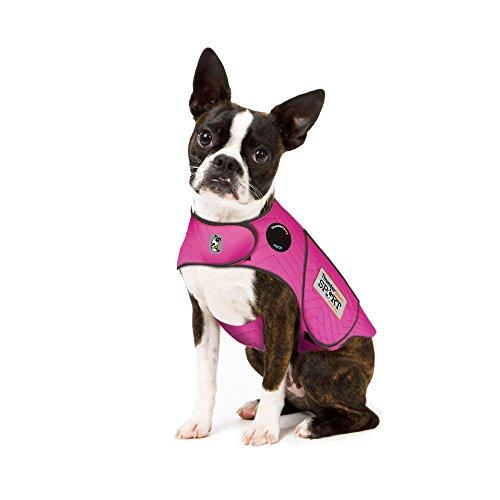 - Thundershirt Sport Dog Anxiety Jacket, Fuchsia, X-Small