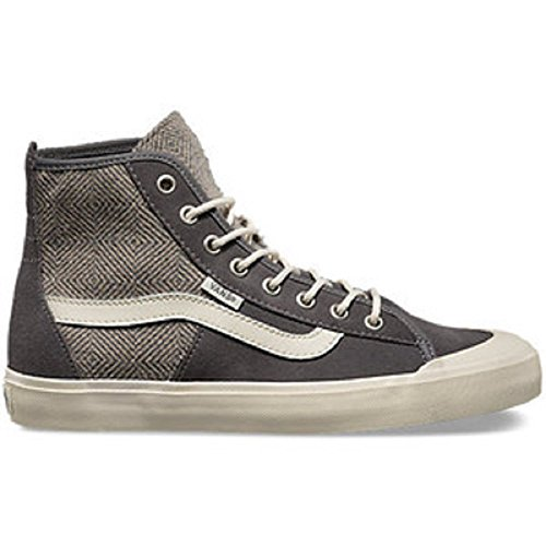 Vans Dames Dazie Hi Geo Wool Grey High Tops (9 Dames)