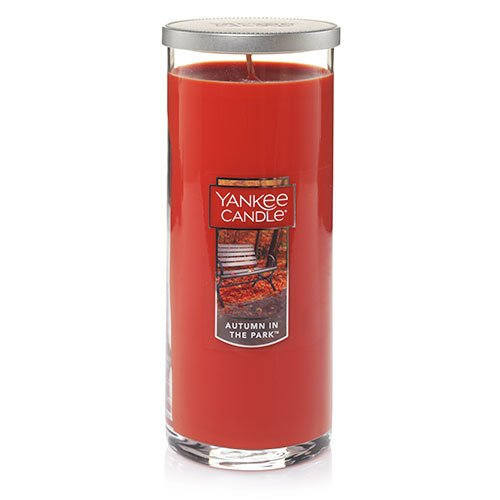 Yankee Candle Autumn In The Park Large Perfect Pillar Candle, Fresh Scent