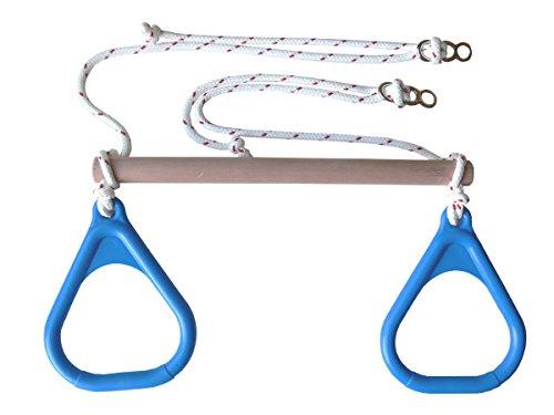 DreamGYM Trapeze Bar Gymnastics Rings Combo | BLUE DreamGYM Inc.