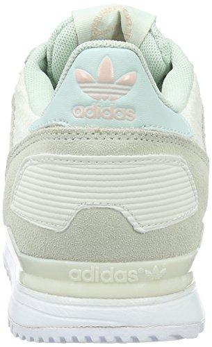 Adidas Dame Zx 700 Lav-top, Sort Beige (off Hvid / Ftwr Hvid / Dampe Grøn)