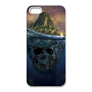 [Pirate Skull] pirate skull island Case For Sam Sung Galaxy S5 Mini Cover {White}