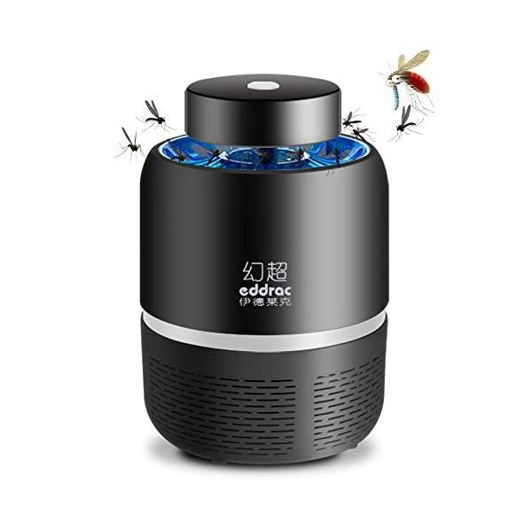 Lampada Antizanzara Elettrica,KKmoon Electric Mosquito Killer Lampada Repellente per Zanzare USB Tipo di Aspirazione LED… 1 spesavip