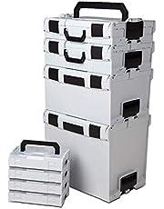 Bosch SORTIMO L-BOXX set startpaket 10 cm grå L-BOXX 102 Bis 374 med 4 Lboxx Mini