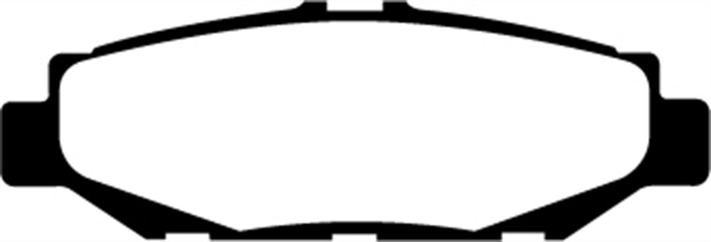 EBC Brakes DP3848C Redstuff Ceramic Low Dust Brake Pad