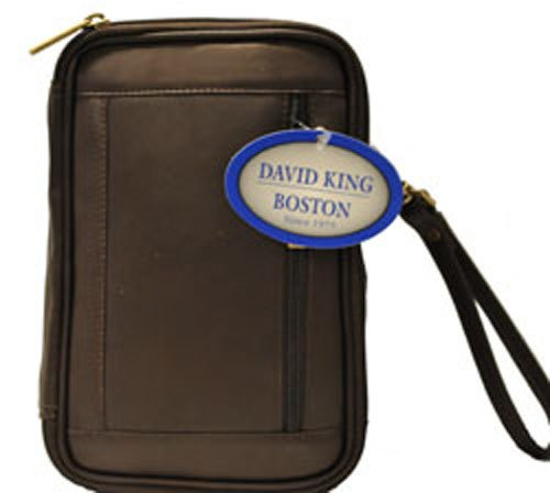 David King & Co. Male Bag with Organizer Inside, Cafe, One Size