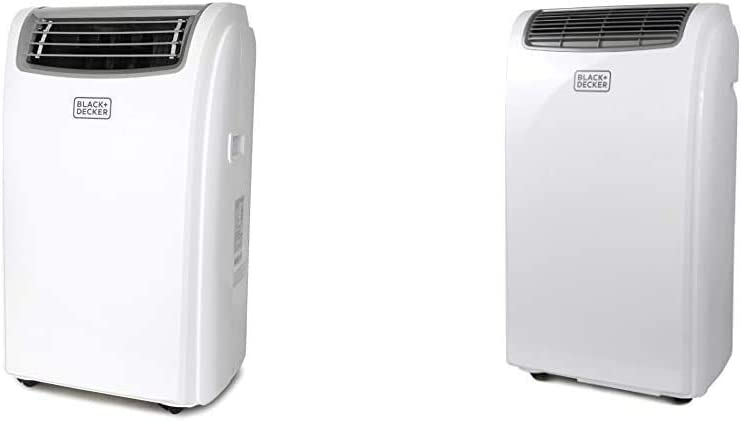 Black + Decker BPACT14WT Portable Air Conditioner, 14,000 BTU & + Decker BPACT10WT Portable Air Conditioner, 10,000 BTU