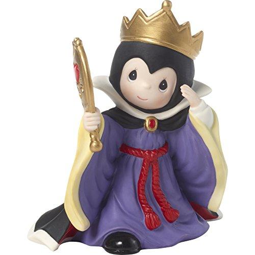 Precious Moments Company Disney Showcase Evil Queen You are The Fairest One of All Bisque Poreclain 181094 Figurine, Size, Multi