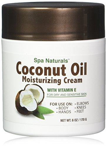 Lot of 3 Coconut Oil Cream 6 Oz/ea Coconut Oil Moisturizing Cream Vitamin E Dry Skin (Best Virgin Hair Distributors)