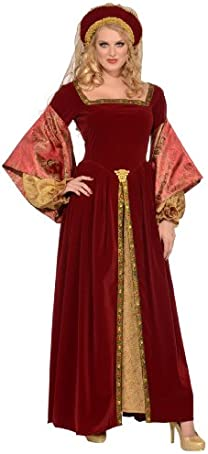 Forum Deluxe Designer Collection Anne Boleyn Costume Dress and Headband